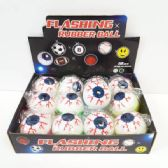 24 Units of FLASHING EYEBALL BOUNCE BALL - Balls