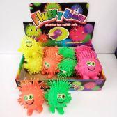24 Units of FLASHING PUFFER BALL - Slime & Squishees