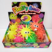 24 Units of FLASHING SQUIGGLY PUFFER BALL - Slime & Squishees