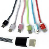 48 Units of Wholesale New Android USB Cell Phone Cord Charger in 6 Assorted Colors - Chargers & Adapters