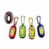 24 Units of SUPER BRIGHT COB FLASHLIGHT WITH CARABINER - Flash Lights