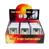 24 Units of SUPER BRIGHT COB SWITCH LIGHT - Flash Lights