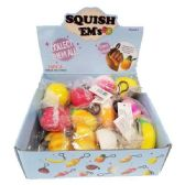 24 Units of SQUISHES ASSORTED STYLES - Key Chains