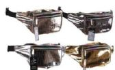 24 Units of Animal Print Metallic Fanny Pack - Fanny Pack