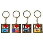 48 Units of TEXAS PICTURES METAL KEYCHAIN - Key Chains
