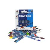 144 Units of Wholesale Kids Crayons in 24 Assorted Colors - Crayon