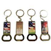 48 Units of WASHINGTON DC BOTTLE OPENER METAL KEYCHAIN - Key Chains