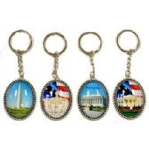 48 Units of WASHINGTON DC ASSORTED PICTURES KEYCHAIN - Key Chains