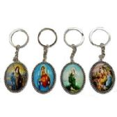 48 Units of RELIGIOUS OVAL KEYCHAIN - Key Chains
