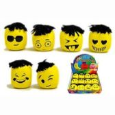 48 Units of FUNNY FACE MOOD BALL - Slime & Squishees