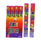 48 Units of CONFETTI POPPERS - Party Favors