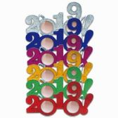 48 Units of NEW YEARS GLITTER GLASSES - Party Favors