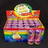 48 Units of CONFETTI PARTY POPPER - Party Favors