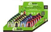 48 Units of LED Key chain w/ Carabiner Clip - Flash Lights