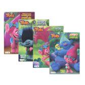72 Units of TROLLS Jumbo Coloring & Activity Book - Coloring & Activity Books