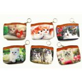 48 Units of KITTENS PRINTED COIN PURSE - Coin Holders & Banks