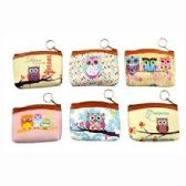 48 Units of OWLS COIN PURSE - Coin Holders & Banks