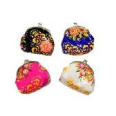 48 Units of FLOWERS SNAP ON COIN PURSE - Coin Holders & Banks