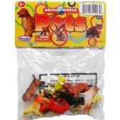 48 Units of PLASTIC DOGS - Animals & Reptiles