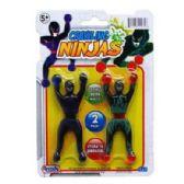 48 Units of CRAWLING NINJAS - Slime & Squishees