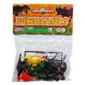 48 Units of PLASTIC DINOSAUR - Animals & Reptiles