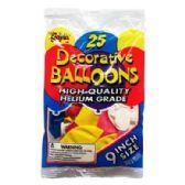 48 Units of INCH BALLOONS - Balloons & Balloon Holder
