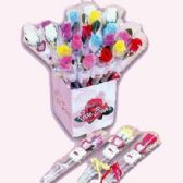 72 Units of MINI ASSORTED COLOR ROSES - Valentine Decorations