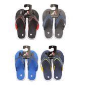 50 Units of Men's Rubber Thong Flip Flop - Men's Flip Flops