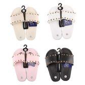36 Units of Women's Studded Slide Sandal - Women's Flip Flops