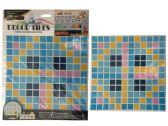 "144 Units of Wallpaper Tile Sheet 10x10"" - Home Decor"