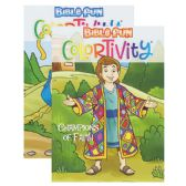 48 Units of Bible Fun Colortivity - Coloring & Activity Books