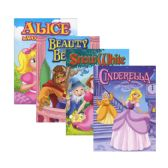 48 Units of FAIRY TALES GIRLS Mix Coloring & Activity Books - Coloring & Activity Books
