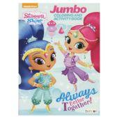 48 Units of SHIMMER & SHINE Jumbo Coloring and Activity Book - Coloring & Activity Books