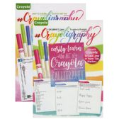48 Units of CRAYOLIGRAPHY A Beginner's Guide To Hand Lettering - Coloring & Activity Books