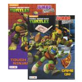 72 Units of TMNT Jumbo Coloring & Activity book - Coloring & Activity Books