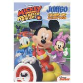 72 Units of MICKEY ROADSTER RACERS Jumbo Coloring and Activity Book - Coloring & Activity Books