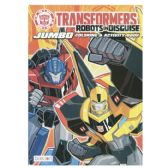 72 Units of TRANSFORMER Jumbo Coloring and Activity Book - Coloring & Activity Books