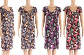 48 Units of Womens Printed Summer Dress Assorted Color - Womens Sundresses & Fashion
