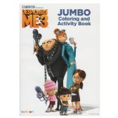 24 Units of DESPICABLE ME 3 Jumbo Coloring and Activity Book - Coloring & Activity Books