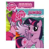 72 Units of MY LITTLE PONY Jumbo Coloring and Activity Book - Coloring & Activity Books