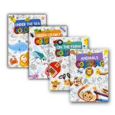 48 Units of SCHOOL ZONE Animals Series Coloring & Activity Books - Coloring & Activity Books
