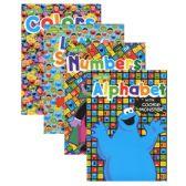 48 Units of SESAME STREET Workbooks - Coloring & Activity Books