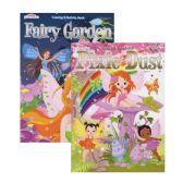 48 Units of KAPPA Fairy Garden & Pixie Dust Coloring & Activity Book - Coloring & Activity Books