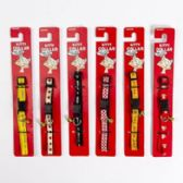 96 Units of Cat Collars With Bells Assorted Patterns - Pet Collars and Leashes