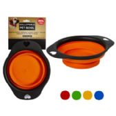 45 Units of Collapsible Pet Bowl - Pet Grooming Supplies