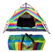 2 Units of Rainbow Camping Tent - Camping Gear