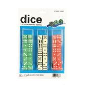 10 Units of 48 Piece Colored Dice - Playing Cards, Dice & Poker