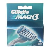 10 Units of Gillette Mach3 Blade 4ct 10pk - Shaving Razors