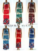 48 Units of Womens Fashion Long Sun Dress Assorted Color And Size - Womens Sundresses & Fashion