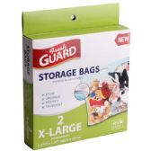 24 Units of 2 Pack X-Large Storage Bag - Storage Holders and Organizers